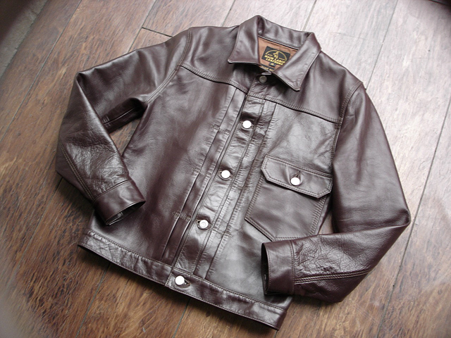 """NEW : HIGH LARGE LEATHERS [HORSEHIDE JACKET] """"Oklahoma City""""、""""Still Water"""" !!_a0132147_1893695.jpg"""