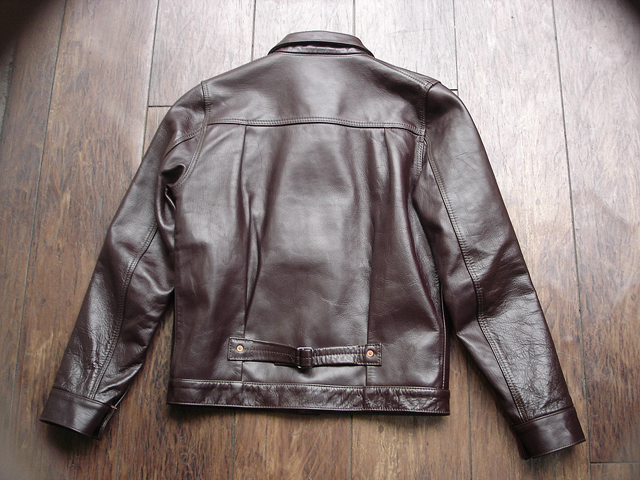 """NEW : HIGH LARGE LEATHERS [HORSEHIDE JACKET] """"Oklahoma City""""、""""Still Water"""" !!_a0132147_1894389.jpg"""
