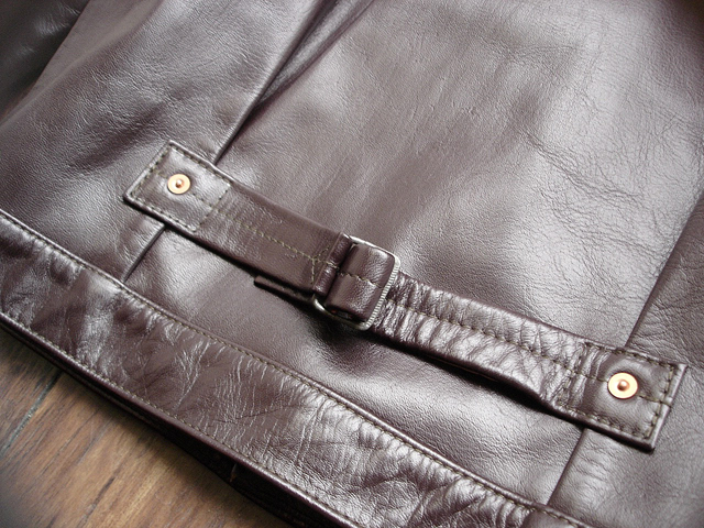"""NEW : HIGH LARGE LEATHERS [HORSEHIDE JACKET] """"Oklahoma City""""、""""Still Water"""" !!_a0132147_1894974.jpg"""