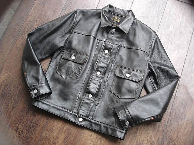 """NEW : HIGH LARGE LEATHERS [HORSEHIDE JACKET] """"Oklahoma City""""、""""Still Water"""" !!_a0132147_1895618.jpg"""