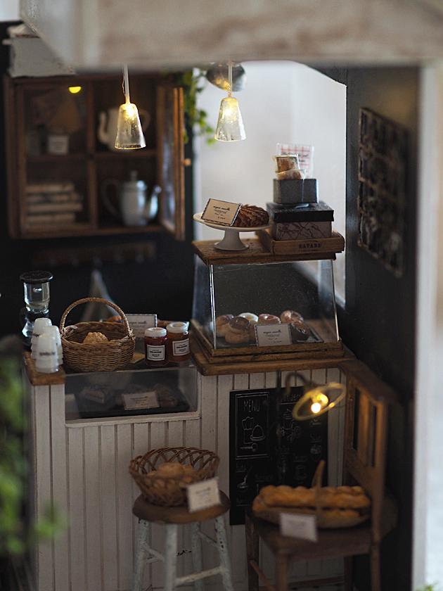 miniature* 小さなカフェが出来ました。_e0172847_16295929.jpg