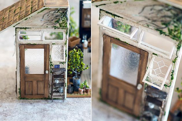 miniature* 小さなカフェが出来ました。_e0172847_16300704.jpg