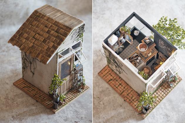 miniature* 小さなカフェが出来ました。_e0172847_16301434.jpg