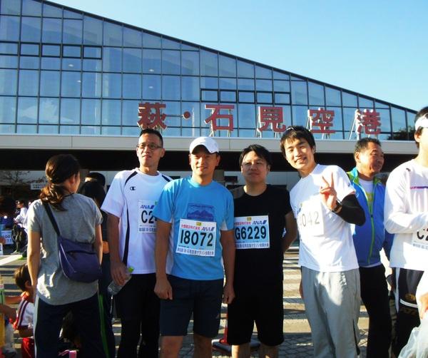 マラソン部活動報告3 第8回萩・石見空港マラソン_c0203658_19471676.jpg