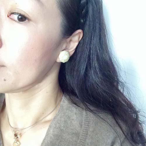 White diamond-earring gold_b0195783_9522192.jpg