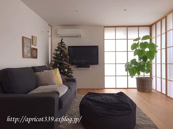 クリスマスツリーを出しました_c0293787_11115329.jpg