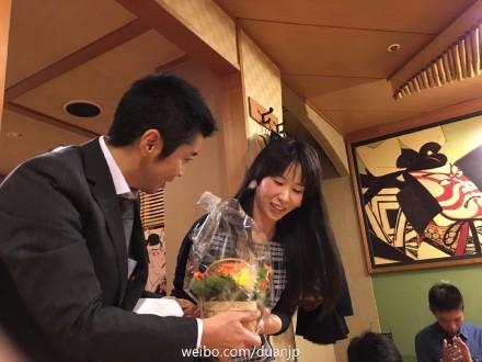 日本僑報社第一回文芸新人賞を龍九尾さんに授与した_d0027795_1913093.jpg