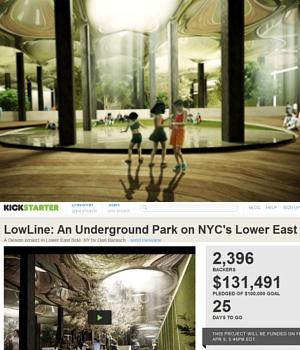 世界初となるNYの地下公園計画、実験室『ロウライン・ラボ』(Lowline Lab)を一般公開中!!!_b0007805_755134.jpg