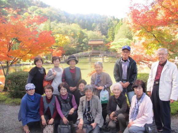 11月10日(火)元気クラブのみなさんと秋の紅葉ウォーキング_d0010630_09553192.jpg