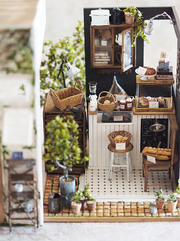 miniature* 小さなカフェが出来ました。_e0172847_08480127.jpg