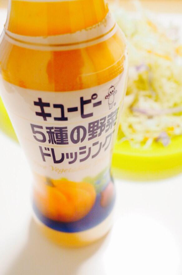 【インド料理店の】あの「オレンジ色のドレッシング」は?_b0008655_20440409.jpg