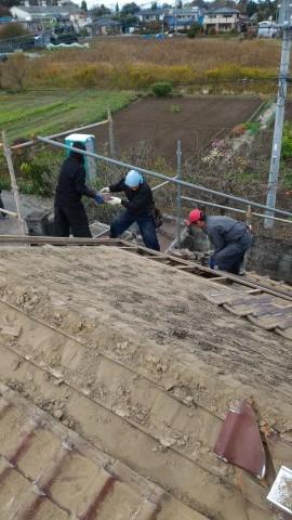スケルトン 解体工事│杉戸の耐震リフォーム_b0274159_08192129.jpg