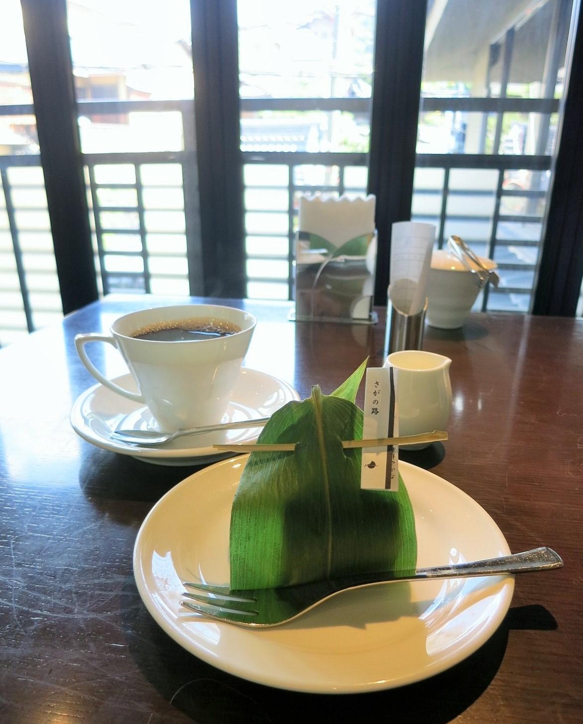 京都で朝活③ 京洋菓子司ジュヴァンセル*スイーツカフェ_f0236260_1381296.jpg