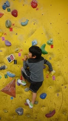 息子たちと、壁登りに行ってきました~!(^o^)/_d0191262_20451695.jpg