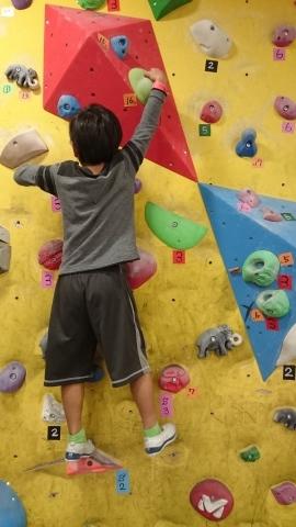 息子たちと、壁登りに行ってきました~!(^o^)/_d0191262_20454078.jpg