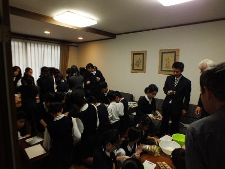 亀阜小学校6年生 伝統工芸授業_c0227958_1671222.jpg