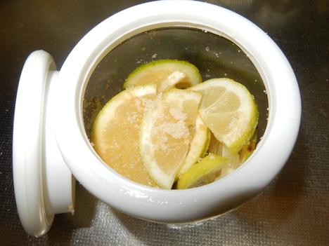 '15,11,18(水)塩レモンと蜂蜜レモン!_f0060461_1310288.jpg
