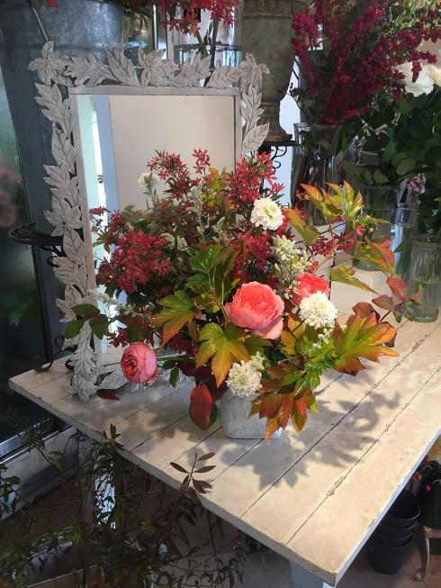 オークリーフ花の教室(石川さんの作品)_f0049672_17544100.jpg