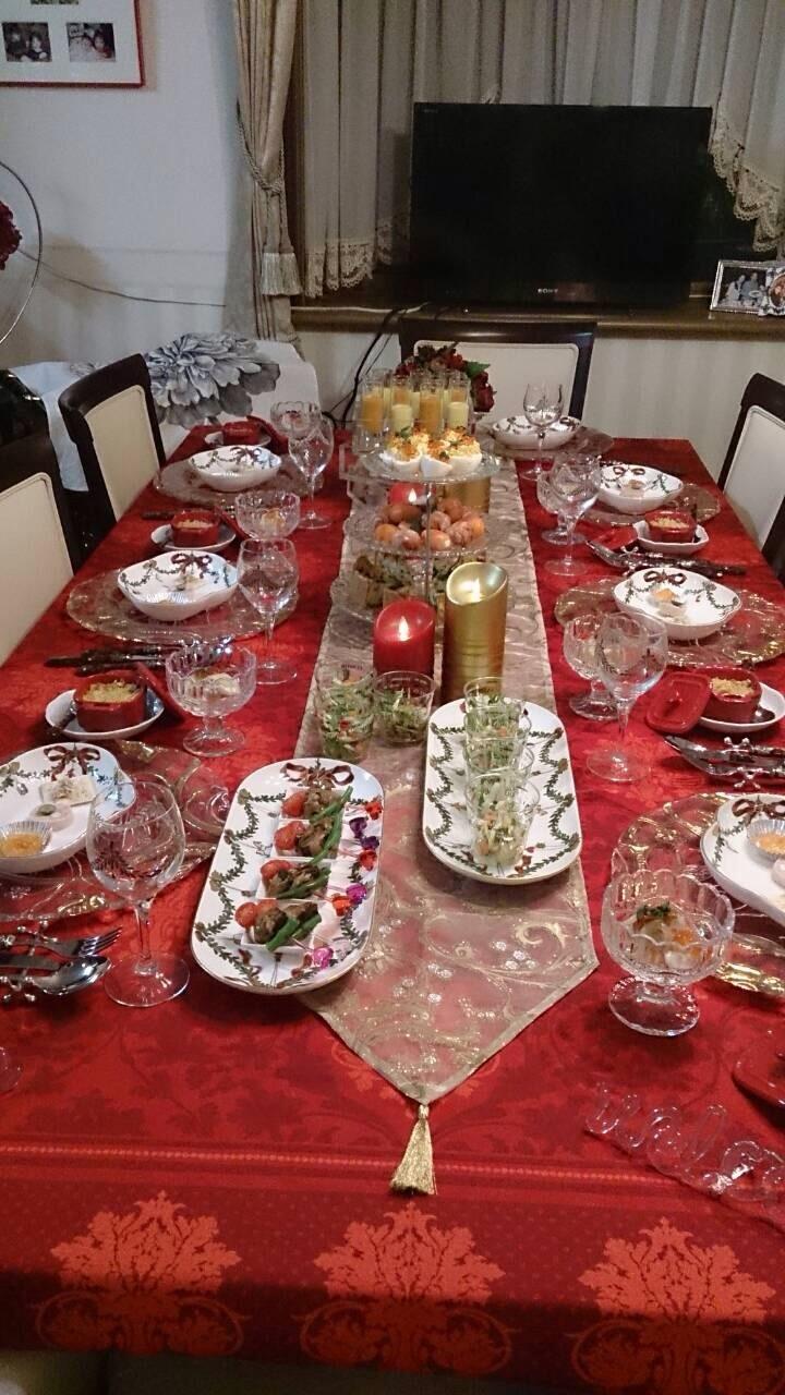 H邸のクリスマスの食卓_c0366777_00225187.jpg