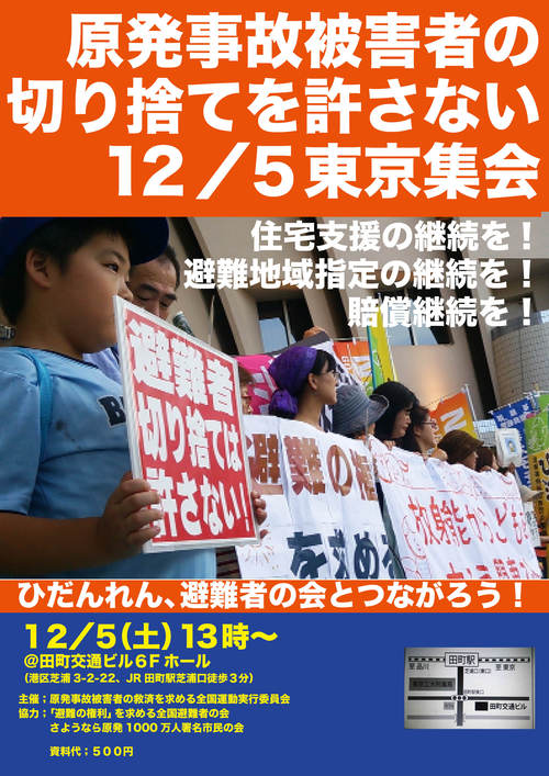 原発事故被害者の切捨てを許さない東京集会_e0068696_7105283.jpg