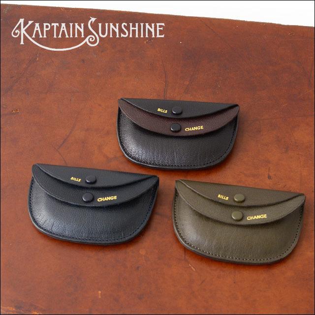 """KAPTAIN SUNSHINE [キャプテンサンシャイン] PORTER Genuine GOAT SKIN ROUND WALLET \""""MADE BY PORTER\"""" [KS5FG03] _f0051306_13153183.jpg"""