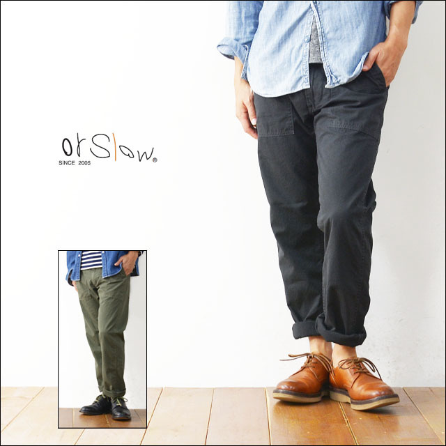orslow[オアスロウ] SLIM FIT FATIGUE PANTS POPLIN [01-5032-P19/01-5032-P60] MEN\'S_f0051306_13451053.jpg