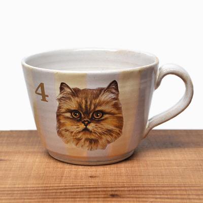 CAT MUG CUP 入荷のお知らせ / 比留間郁美_d0193211_16282963.jpg