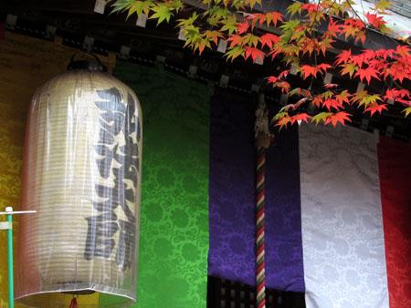 紅葉だより25 今熊野観音寺_e0048413_20322625.jpg