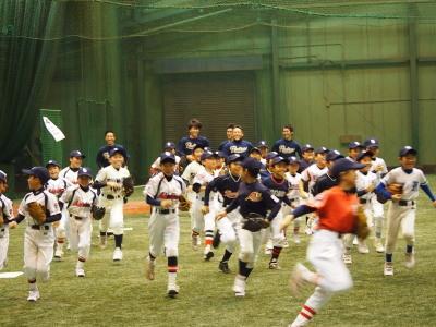 サンディエゴ・パドレス野球教室_d0262619_13120422.jpg