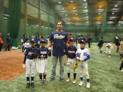 サンディエゴ・パドレス野球教室_d0262619_13123982.jpg