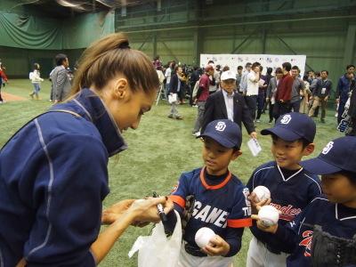 サンディエゴ・パドレス野球教室_d0262619_13124686.jpg