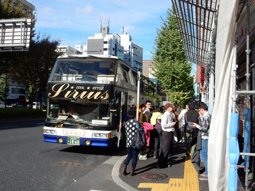 東新宿はインバウンド先進エリアです~外客向けホステルが開業(ツアーバス路駐台数調査 2015年11月)_b0235153_13293216.jpg