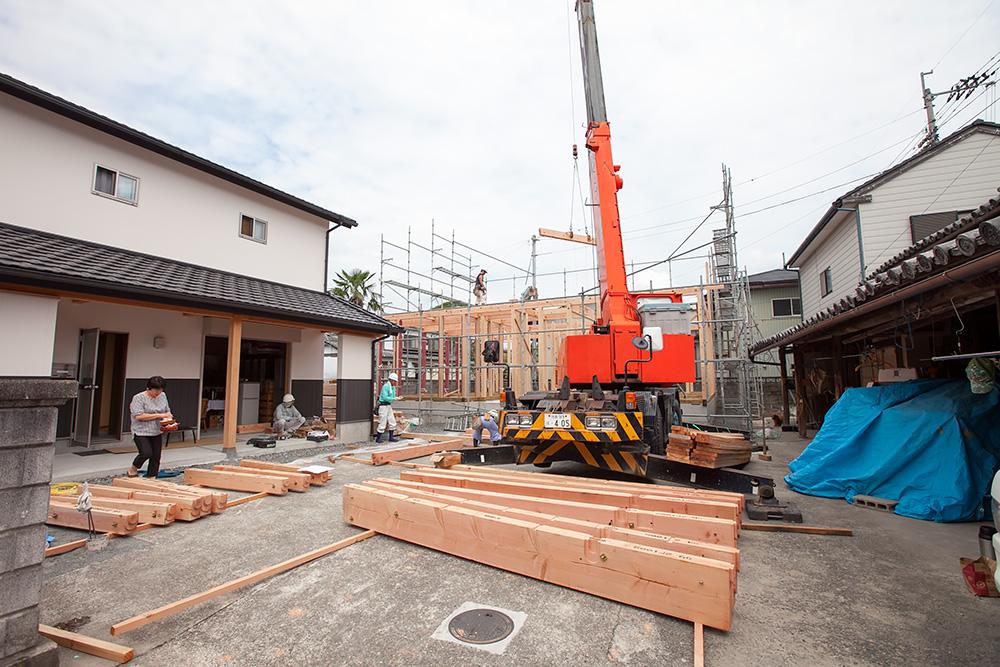 伝統ある町並みに建てる風格ある木造邸宅(1)_a0163962_16524776.jpg