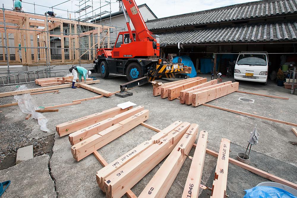 伝統ある町並みに建てる風格ある木造邸宅(1)_a0163962_16524885.jpg