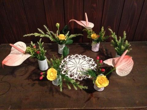 今週のお花とシュトレン_a0080074_11192131.jpg