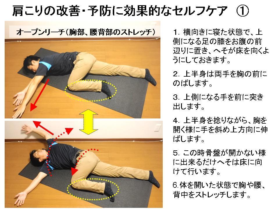 パフォーマンスを高めるストレッチ(肩こり・腰痛のケア)①_c0362789_21551019.jpg