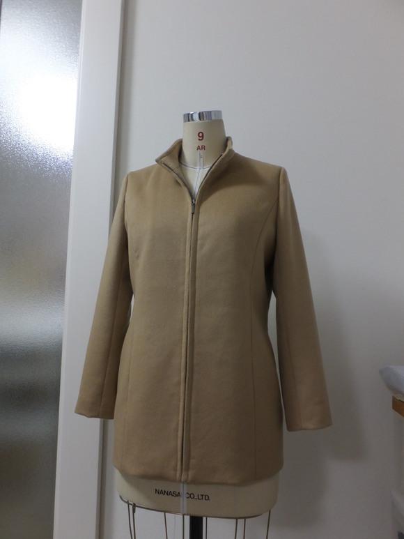 ピュアカシミアのジャケット完成_f0218996_18394392.jpg