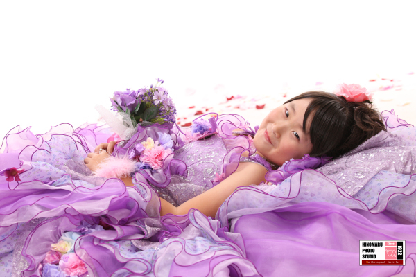 ゆなちゃん☆ドレス_b0203705_17295560.jpg