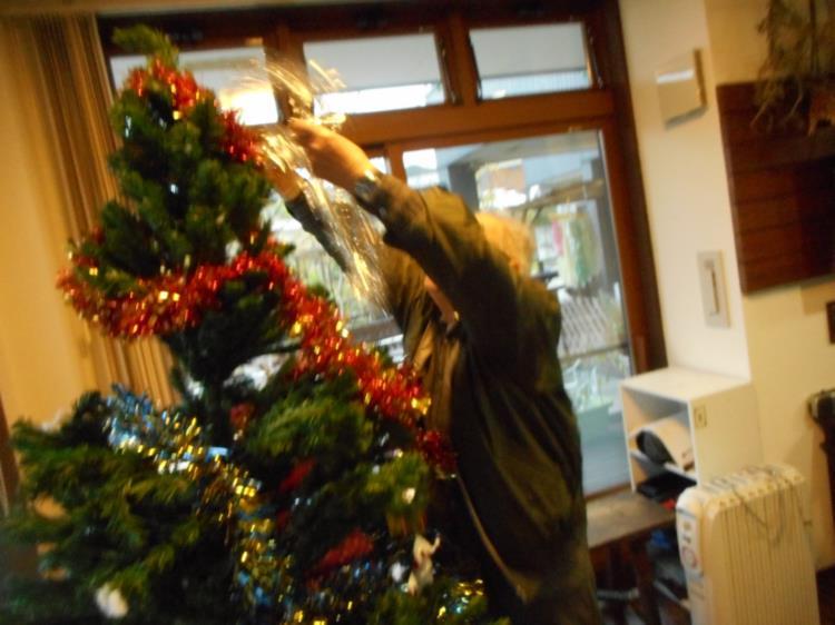 クリスマスシーズンに向けて_f0220087_3512114.jpg