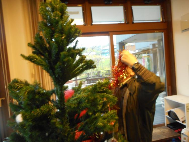 クリスマスシーズンに向けて_f0220087_3513541.jpg