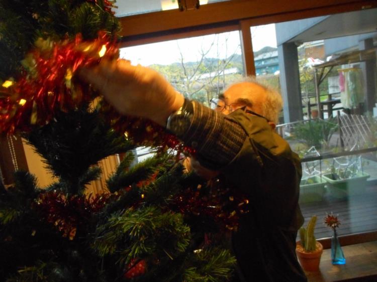 クリスマスシーズンに向けて_f0220087_3524521.jpg