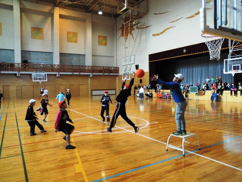 ポートボール 当麻小学校ブログ校長つれづれ日記