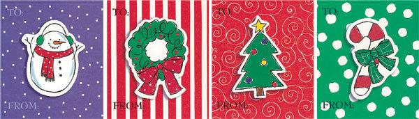 クリスマスの大きめラベルをプレゼント!_d0225198_20394418.jpg