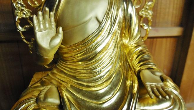 仏像に金箔を押すお仕事 2015.11.20_c0213599_21172773.jpg