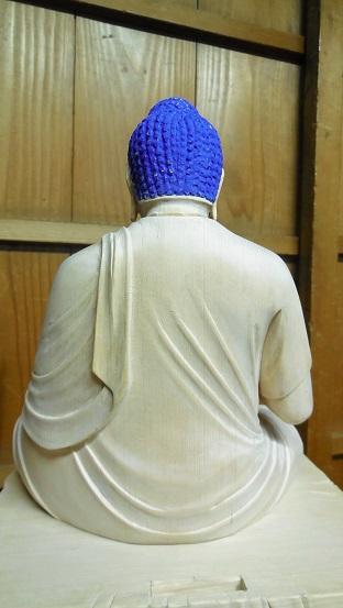 仏像に金箔を押すお仕事 2015.11.20_c0213599_2151126.jpg