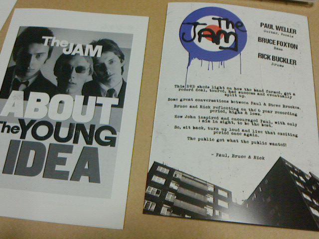 昨日到着2DVD+CD 〜 About The Young Idea / The Jam_c0104445_20463645.jpg
