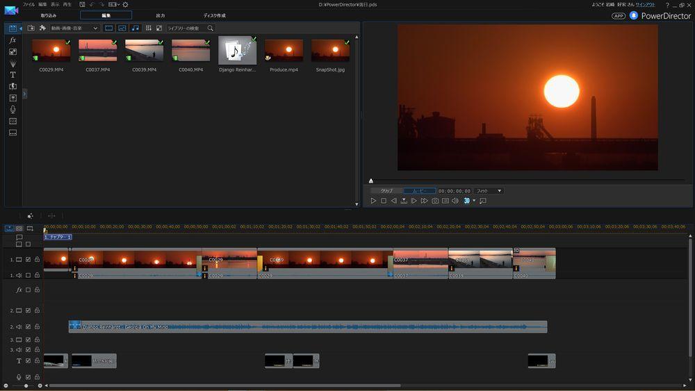 PowerDirector 14 で4Kビデオ編集をする_c0047906_18480207.jpg