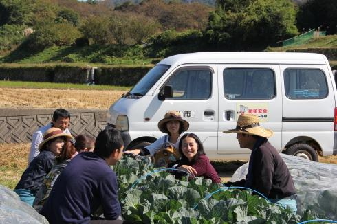 11月の秋晴れの日。農場を訪ねました。_d0350925_18073914.jpg