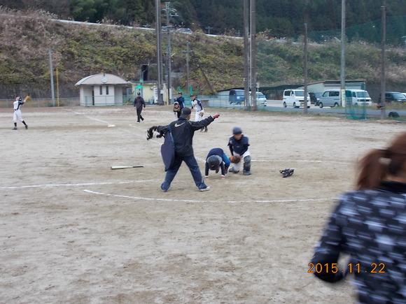 親子試合!_d0010630_16541392.jpg