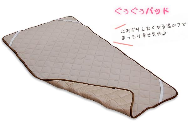 ぐうぐうパッドとオーラ掛け毛布はいつ入荷しますか?_d0063392_18325685.jpg